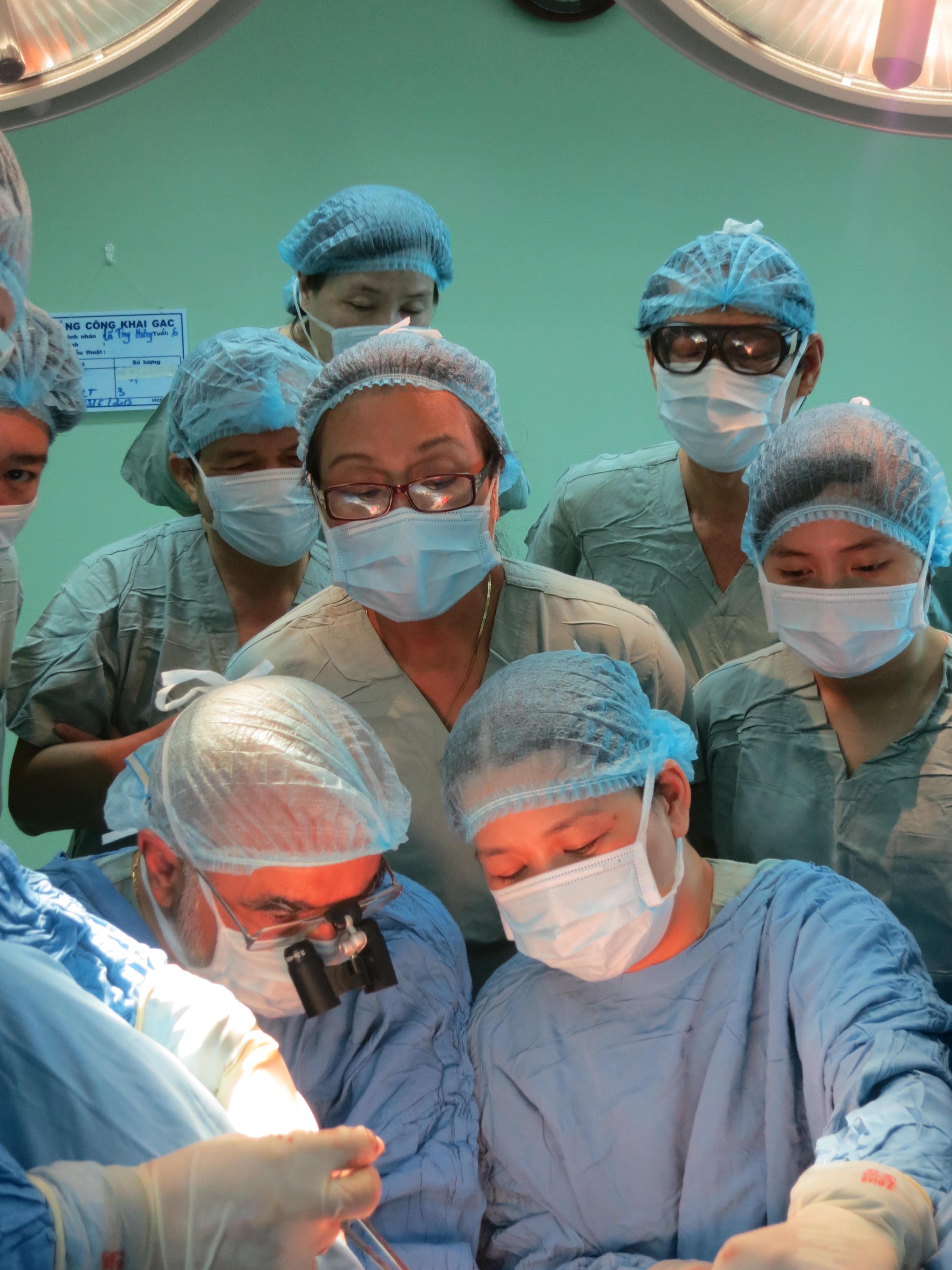 2013 Surgery in progress